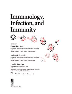 Immunology  Infection  and Immunity PDF