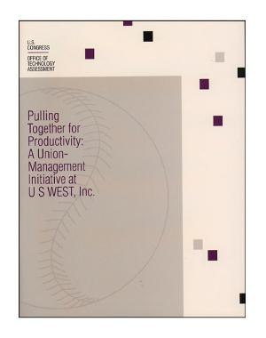 Pulling together for productivity a union management initiative at US West  Inc