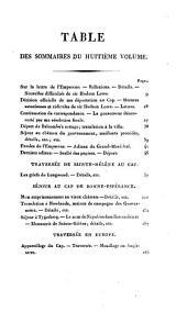 Mémorial de Sainte-Hélène, ou, Journal où se trouve consigné, jour par jour, ce qu'a dit et fait Napoléon durant dix-huit mois: Volume8