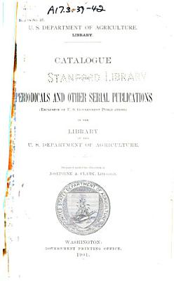 Catalogue of the Periodicals and Other Serial Publications
