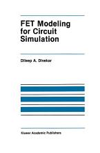 FET Modeling for Circuit Simulation PDF