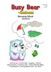 Beruang Sibuk - Berbisnis Busy Bear - Business INDONESIAN