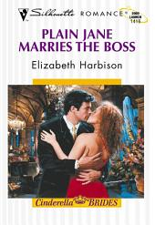 Plain Jane Marries the Boss