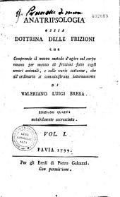 Anatripsologia ossia dottrina delle frizioni