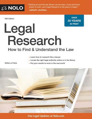 Legal Research PDF