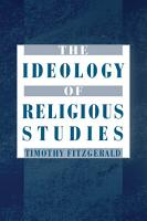 The Ideology of Religious Studies PDF