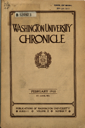 Washington University Chronicle