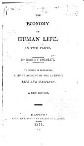 The economy of human life: Part 1