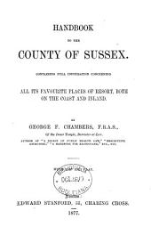 Handbook to the county of Sussex