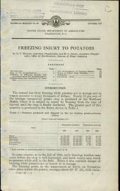 Freezing injury to potatoes