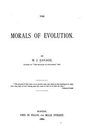 The Morals of Evolution