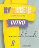 New Interchange Intro Workbook B PDF