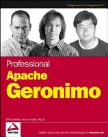 Professional Apache Geronimo PDF