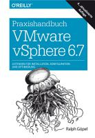 Praxishandbuch VMware vSphere 6 7 PDF