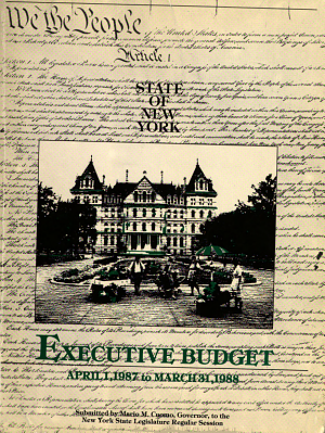 State of New York Annual Budget Message PDF