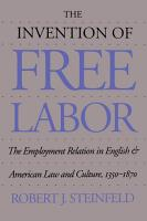 The Invention of Free Labor PDF