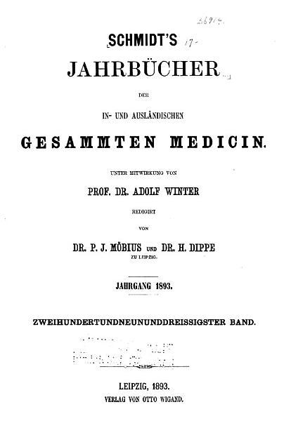 Download Schmidt s Jahrbuecher Book