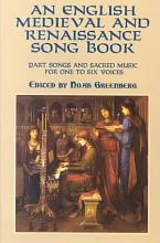An English Medieval and Renaissance Song Book PDF