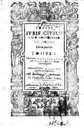 Corpus juris civilis a Dio. Gothofredo I. C. recognitum: Continens Pandectarvm, seu Digestorvm libros quinquaginta. Additus est Index M.CCCC.XXV regulas iuris continens