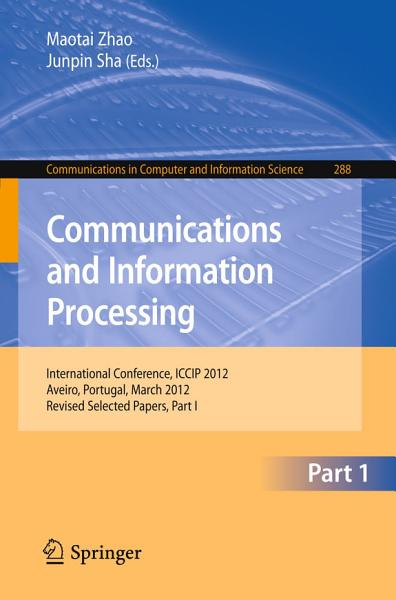 Communications and Information Processing