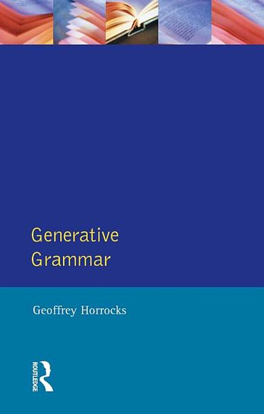 Download Generative Grammar Book