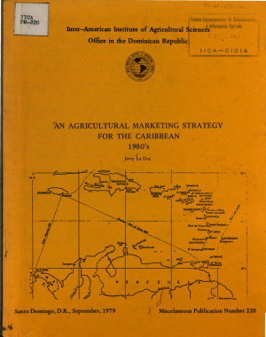 An Agricultural Marketing Strategy for the Caribbean PDF