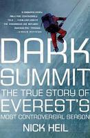 Dark Summit PDF