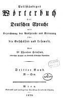 Vollst  ndiges W  rterbuch der deutschen Sprache mit Bezeichnung der Aussprache und Betonung f  r die Gesch  fts  und Lesewelt PDF