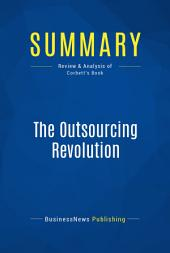 Summary: The Outsourcing Revolution: Review and Analysis of Corbett's Book