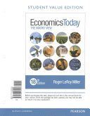 Economics Today  The Macro View  Student Value Edition Plus Myeconlab with Pearson Etext   Access Card Package