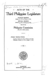 Laws of the First-Fifth Philippine Legislature ...: Issues 2531-2663