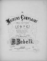 The Maiden's Complaint