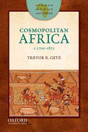 Cosmopolitan Africa  1700 1875