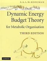 Dynamic Energy Budget Theory for Metabolic Organisation PDF