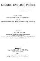 Longer English Poems PDF