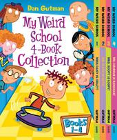 My Weird School 4-Book Collection with Bonus Material: My Weird School #1: Miss Daisy Is Crazy!; My Weird School #2: Mr. Klutz Is Nuts!; My Weird School #3: Mrs. Roopy Is Loopy! and My Weird School #4: Ms. Hannah Is Bananas!