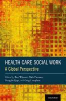 Health Care Social Work PDF