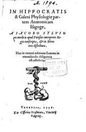 In Hippocratis et Galeni physiologiae partem anatomicam isagoge