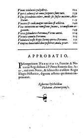 Henrico IV, Franciae et Nauarrae augustissimo, in instauratione Godranij Soc. Iesu Collegij, Panegiricus