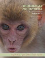 Biological Anthropology PDF