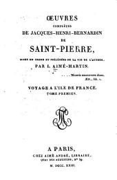 Voyage à l'île-de-France