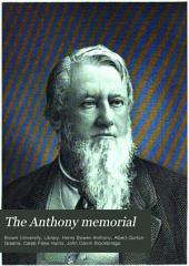 The Anthony Memorial: A Catalogue of the Harris Collection of American Poetry with Biographical and Bibliographical Notes