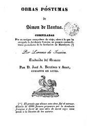 Obras póstumas de Simon de Nantua: compiladas por su antiguo compañero de viaje ...