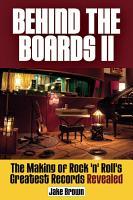Behind the Boards II PDF