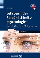 Lehrbuch der Pers  nlichkeitspsychologie PDF