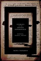 Stories of the Soviet Experience PDF
