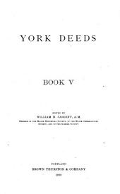 York Deeds: Volume 5