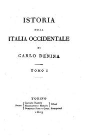 Istoria Della Italia Occidentale: Volumi 5-6