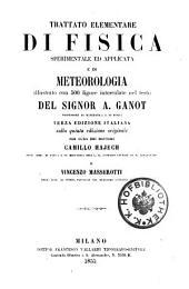 Trattato elementare di fisica sperimentale. 3. ed. italiana sulla 5. ed. originale