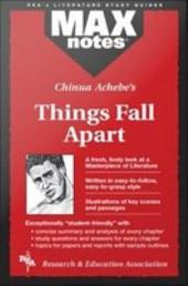 Things Fall Apart (MAXNotes Literature Guides)